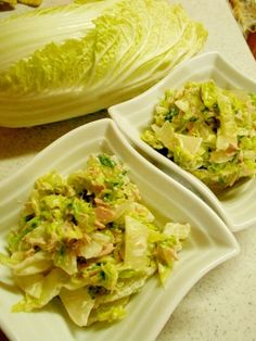 「白菜のツナマヨサラダ」我が家の冬の定番サラダです【楽天レシピ】