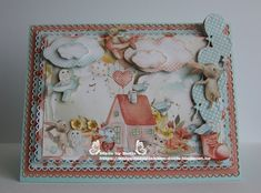 """Mintay By Karola """"Kiddie """" Forest Friends, Paper Cards, Kids Cards, Junk Journal, Mini Albums, I Card, Cardmaking, Card Ideas, Diy And Crafts"""