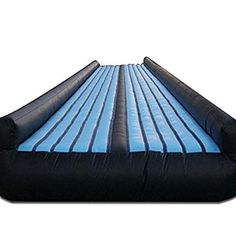 ibigbean Gym Air Floor Inflatable Air Trampoline Track for Kids Tumbling - 10 ft Width 20 in Height Slip N Slide, Pvc Material, Outdoor Gear, Gymnastics, Tent, Flooring, Track, Kids, Fitness