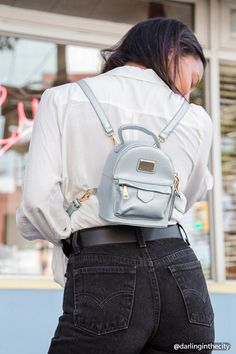 Product Name:Structured Mini Backpack, Category:ACC_Handbags, Price:22.9