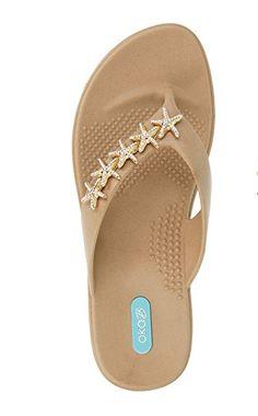 193ea6723db Gillian Flip Flop Sandal Shoes by OkaB Color Chai Review Flip Flop Sandals