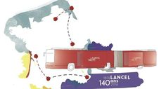 L'histoire de Lancel, qui célèbre son 140e anniversaire, est marquée par de nombreuses innovations, comme le briquet automatique. - RelaxNews - Lancel