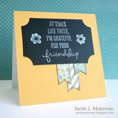 Created by Sarah M with the Simon Says Stamp April 2013 Card Kit