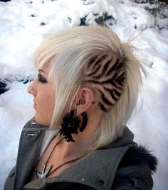 zebra side cut designs - Google Search