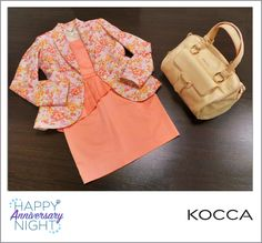 #HAPPY #ANNIVERSARY #NIGHT! 9.05.15 / From 8pm to 11pm #Flowered #jacket / #Giacca #floreale - #Kocca #Original price: 159.90€ #Outlet #price: 95.94€ #Anniversary #Night #price: 57.56€ #Sheath #dress / #Abito #tubino - Kocca Original price: 109.90€ Outlet price: 65.94€ Anniversary Night price: 39.56€ #Bag / #Borsa - Kocca Original price: 69.90€ Outlet price: 41.94€ Anniversary Night price: 25.16€ #Available at Kocca - #store number 11 http://www.palmanovaoutlet.it/it/outlet/negozi/kocca