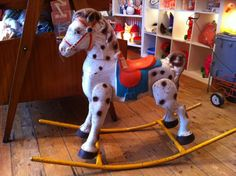 antique rocking horse - eBay