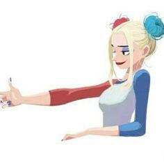 Harley Quinn fan art... Love it!