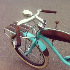 A custom Electra. My bike made by Bicicle TeMe