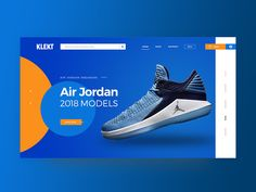 Great work from a designer in the Dribbble community; your best resource to discover and connect with designers worldwide. Jordans 2018, Air Jordans, Air Jordan Sneakers, Jordans Sneakers, Infographics, Landing, Web Design, Banner, Template