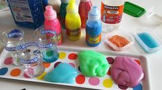 SLIME: une recette {DiY} très simple à réaliser avec les kids !!  via @creamalice