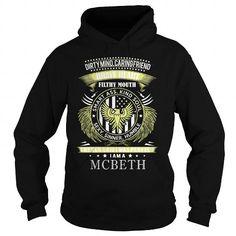 I Love  MCBETH, MCBETH T Shirt, MCBETH Tee Shirts & Tees