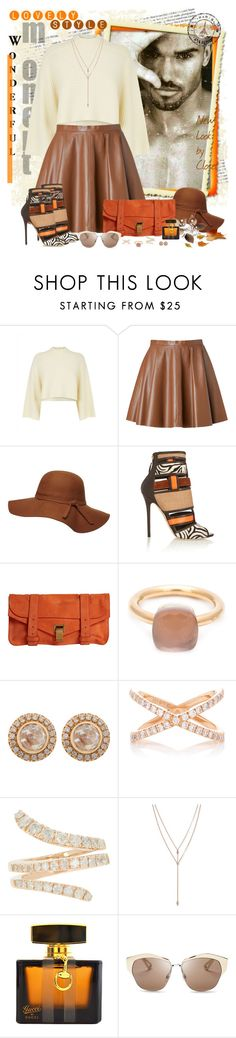 """""""New Look by Closet - Style"""" by claudia-nunes04 ❤ liked on Polyvore featuring Jaeger, RED Valentino, Dorothy Perkins, Brian Atwood, Proenza Schouler, Pomellato, Zoe, Eva Fehren, Roberto Marroni and Vince Camuto"""