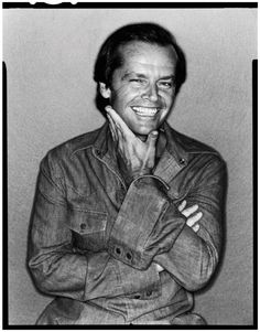 Jack Nicholson photographed by David Bailey, 1978.