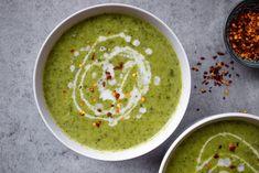 Thai Coconut Broccoli Soup Broccoli Soup, Broccoli Florets, Thai Coconut, Vegetable Stew, Palak Paneer, Vegan Vegetarian, Meal Prep, Spices