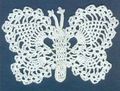 lots of lovely butterfly graphs Thread Crochet, Crochet Stitches, Crochet Patterns, Crochet Appliques, Irish Crochet, Crochet Lace, Free Crochet, Crochet Hair Accessories, Crochet Hair Styles