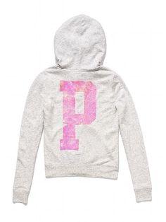 PINK Bling Perfect Zip Hoodie #VictoriasSecret http://www.victoriassecret.com/pink/new-arrivals/bling-perfect-zip-hoodie-pink?ProductID=106336=OLS?cm_mmc=pinterest-_-product-_-x-_-x