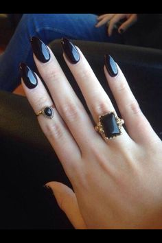 Love the nails, love the rings! Love love love!!