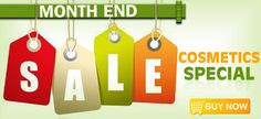 Limited Period Sale on Cosmetics- Upto 30% off. Offer Valid till August 31st 2013