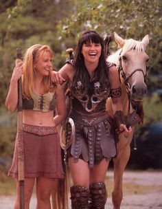 These two were the most beautiful women in the world when I was a little girl :)