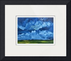 """""""Storm+Clouds""""+by+Hal+Sadler,+Saylorsburg+//+Storm+Clouds+is+a+high+quality+prints+of+Hal+Sadler's+original+oil+painting.+This+print+is+made+from+100%+cotton+smooth+fine+art+paper,+providing+exceptional+ink+handling+and+sharpness.+The+archival+acid+and+lignin-free+paper+offers+a+broad+range+of+colors,+natural+contrast,...+//+Imagekind.com+--+Buy+stunning+fine+art+prints,+framed+prints+and+canvas+prints+directly+from+independent+working+artists+and+photographers."""