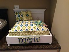 Hey, I found this really awesome Etsy listing at http://www.etsy.com/listing/159541955/curly-q-personalized-pet-bed