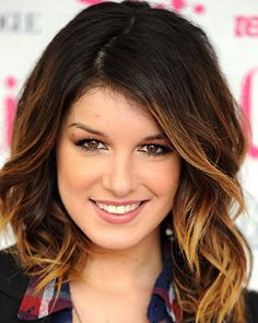 Shenae Grimes Ombre - might go a little shorter and higher with my ombre