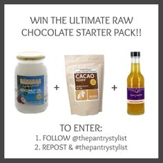 Competition running over on the pantry stylist pantry stylist lover the chance instagram page!! We are giving one lucky The to win our ultimate raw chocolate starter pack!! Pop over to our instagram account to enter! >>>> http://instagram.com/thepantrystylist ‪#‎competition‬ ‪#‎win‬ ‪#‎winner‬ ‪#‎coconut‬ ‪#‎health‬ ‪#‎fitness‬ ‪#‎paleo‬ ‪#‎raw‬ ‪#‎rawfoodie‬ ‪#‎healthy‬ ‪#‎rawchocolate‬ ‪#‎organic‬