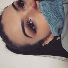 Her eyebrows are sick Eyebrows On Fleek, Perfect Eyebrows, Makeup On Fleek, Kiss Makeup, Flawless Makeup, Glam Makeup, Makeup Inspo, Makeup Inspiration, Beauty Makeup