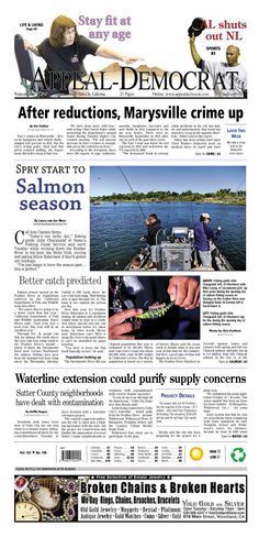 Appeal-Democrat front page for July 17, 2013.