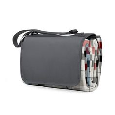 Shop for Picnic Time Carnaby Street Plaid with Grey Flap XL Blanket Tote. Free Shipping on orders over $45 at Overstock.com - Your Online…