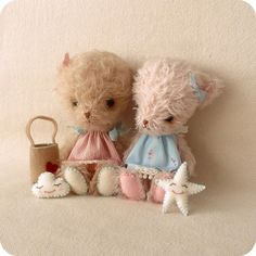 OMG TOO CUTE!!!! bella and lulu by Gingermelon, via Flickr