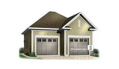 Plane, Plan Garage, Garage Double, Shed, Outdoor Structures, Car, Two Car Garage, Exterior Homes, Lean To Shed