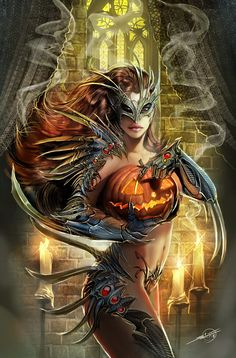 witchblade haloween variant by *nebezial on deviantART