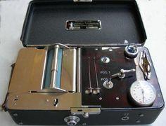 storia dello sfigmomanometro, histoire du sphygmomanomètre, Oscillograph Gesenius & Keller history of sphygmomanometer,