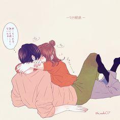 Anime Cupples, Anime Kiss, Anime Art, Manga Couple, Anime Love Couple, Cute Relationships, Cute Relationship Goals, Cosplay Tumblr, Couple Drawings