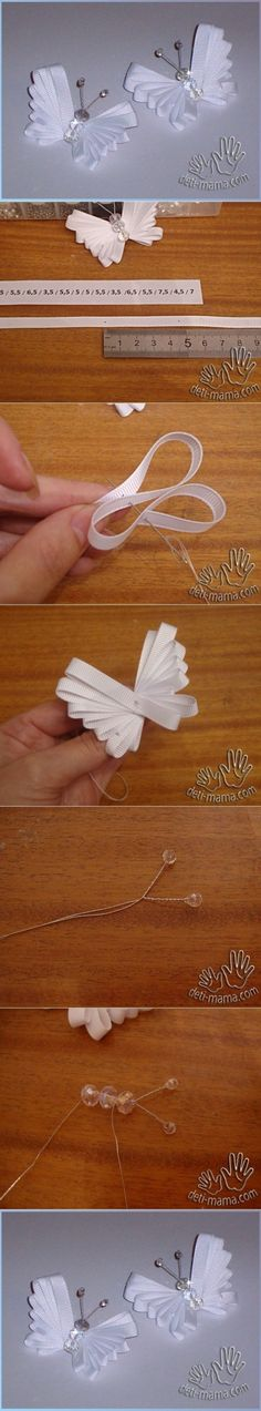35 #Ribbon Crafts from Lengths and Scraps ...                                                                                                                                                                                 More