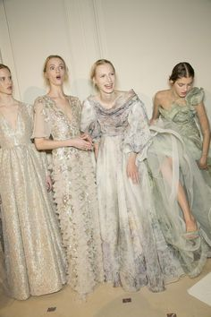 girlannachronism:  Valentino spring 2013 couture backstage