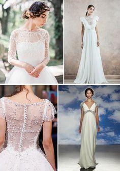 20 Vestidos de Noiva com Mangas