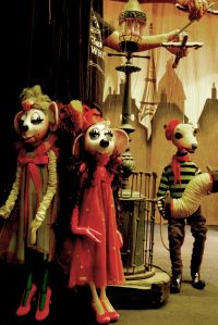 Perty puppets. Not sure where from?