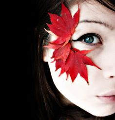 Fall This, is perfect. Like exactly, not the full look mind you, but the leaves on the cheek bone.