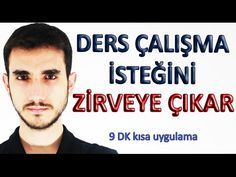 Ders Çalışma İsteğini Zirveye Çıkar (9 Dk Kısa, Etkili Uygulama) - YouTube 2008 Economic Crisis, Wille, The Deed, Teaching Science, Kids Health, Study Tips, Social Platform, Youtube, Parenting