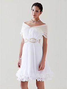 Tulle With Rhinestone Clasp Speical Occasion Shawl/ Wedding ... – USD $ 19.99