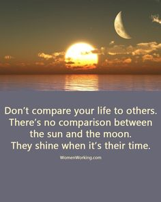 Don't compare yourself to others quote