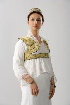Traditional albanian wedding dress