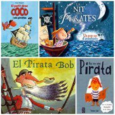 El Club dels Petits Lectors: llibres de pirates  libros sobre piratas