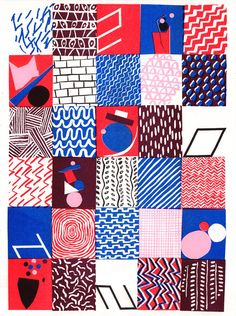 Risograph Print (Inc. p p) via Colourbox Boutique. Click on the image to see more!