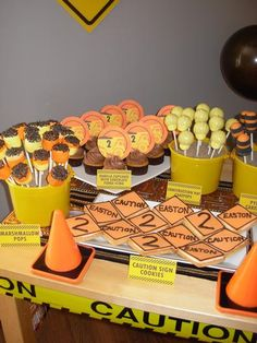 Hostess with the Mostess® - Easton James is Turning 2, Join his Construction Crew!  My sons party!
