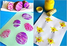 16 jednoduchých nápadů na velikonoční tvoření s dětmi | g.cz Easter, Jar, Homemade, Tableware, Montessori, Crafts, Image, Dinnerware, Manualidades