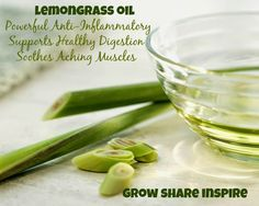 I personally take a drop of lemongrass and ginger essential oil daily. It helps to fight inflammation from the inside out. Shop online for your lemongrass here http://sparknaturals.com/…/essentialoi…/eo-lemongrass.html/… and save 10% with coupon code: jeanne