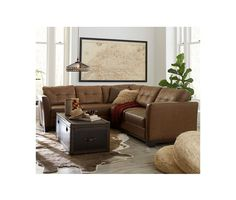 Martino Leather 2 Piece Sectional Sofa Sofa And Apartment